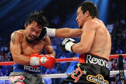 USP BOXING: MANNY PACQUIAO VS JUAN MANUEL MARQUEZ S BOX USA NV